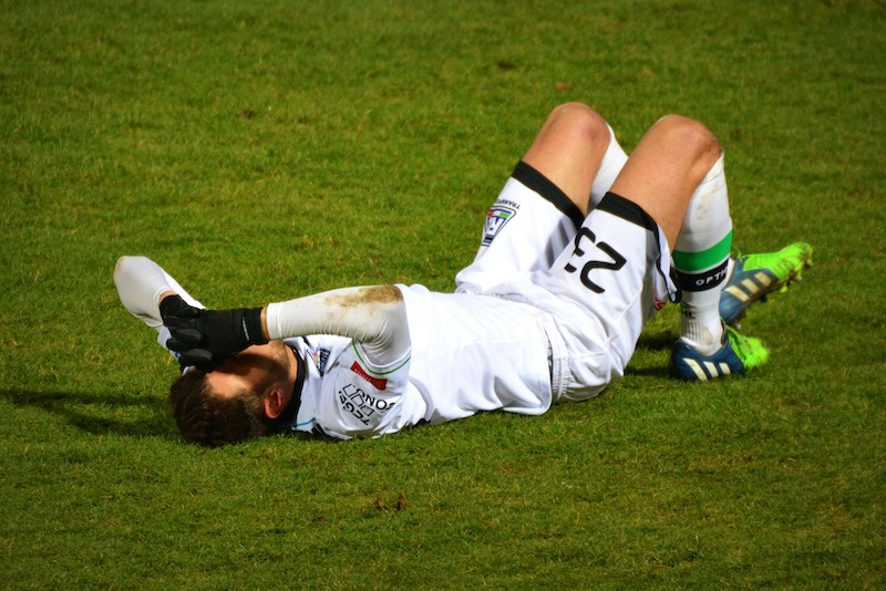 Muscle Strain from sports injury